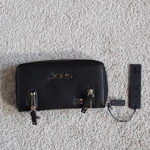 Brand new black Joe's wallet